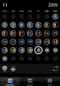 colorendar calendar screen